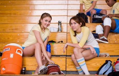 Miley Emily Miley Cyrus And Emily Osment Emily Osment