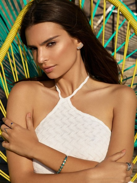Emily Ratajkowski Poses For Revolve Clothing Summer