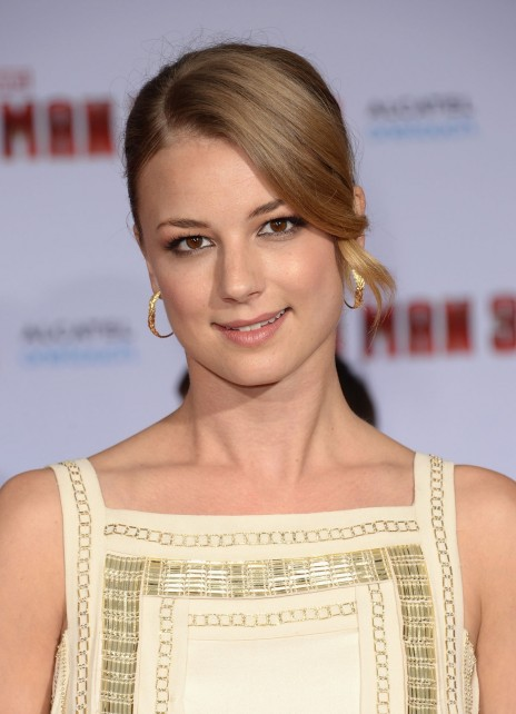 Emily Vancamp At Iron Man Premiere In Hollywood