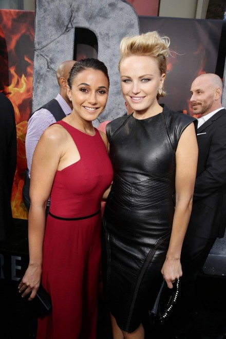 Emmanuelle Chriqui Attends Tge San Andreas Premiere In Hollywood