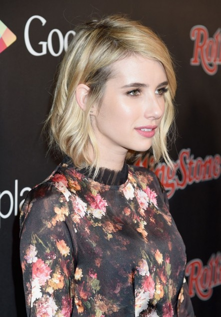 Emma Roberts Rolling Stone Google Play Event Grammy Week In Los Angeles Emma Roberts