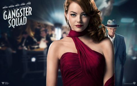 Amazing Free Quality Gangster Squad Emma Stone Sean Penn Wallpaper Image For Computer Screensaver And Destop Movies