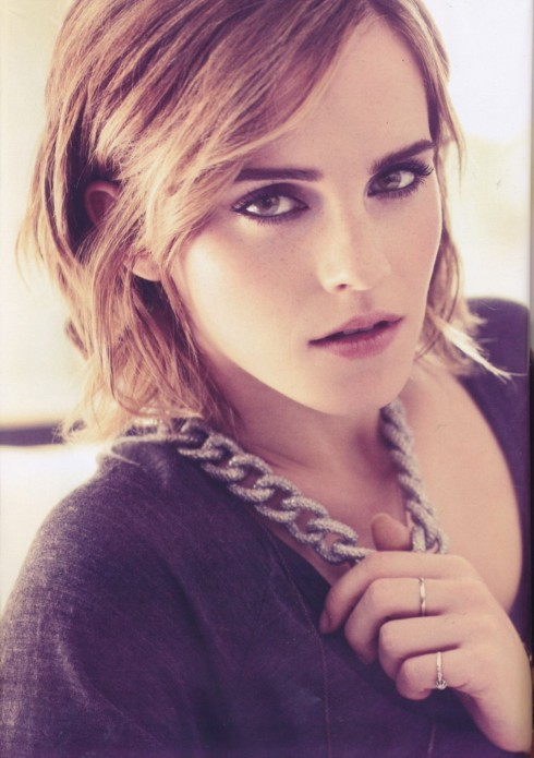 Beautiful Emma Watson Make Up Eye Shadow