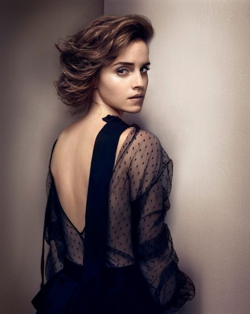 Emma Watson Vincent Peters Photoshoot For Gq