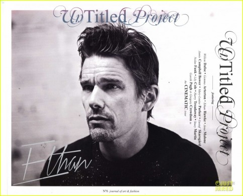 Ethan Hawke Covers Untitled Project Magazine