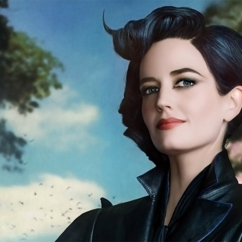 Eva Green Miss Peregrines Home For Peculiar Children Wide Eva Green
