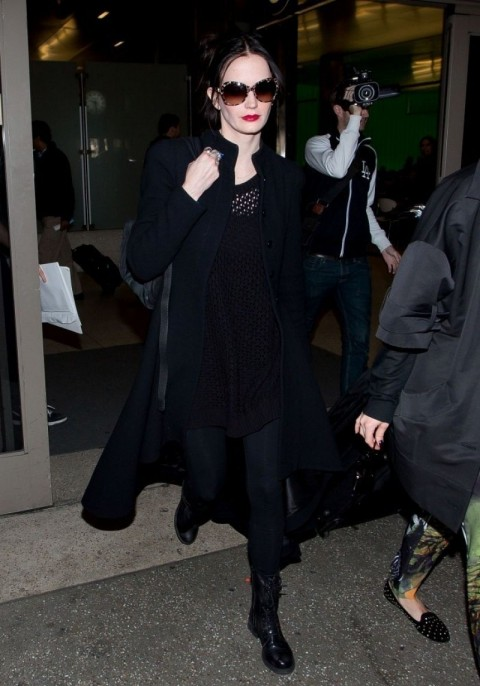 Eva Green Style Arrives At Lax Airport Jan Eva Green