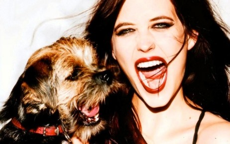 Eva Green With Dog Films