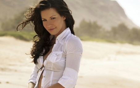 Evangeline Lilly Lost Beach Wallpaper Evangeline Lilly