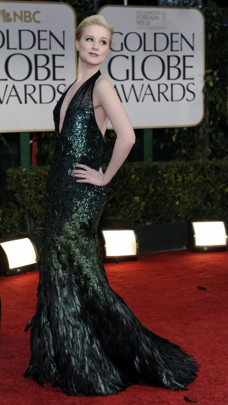 Evan Rachel Wood At Th Annual Golden Globe Awards In Los Angeles Beach