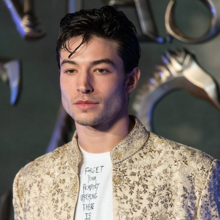 Ezra Miller At The Fantastic Beasts European Premiere Custom Ezra Miller
