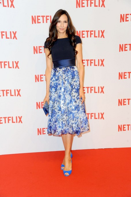 Famke Janssen Netflix Launch Party In Berlin Germany September Famke Janssen