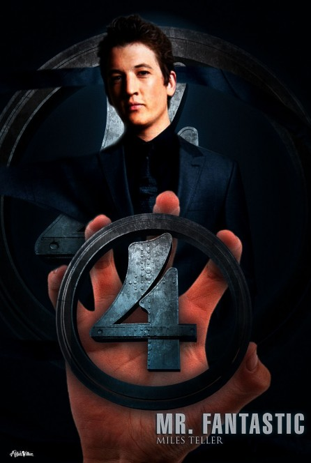 Fantastic Remake Miles Teller Alijah Villian Fantastic Four Reboot Posters Imagined With New Cast Cast Of Fantastic Four
