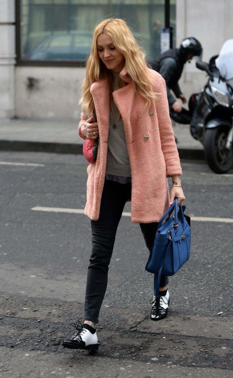Fearne Cotton Arriving At Bbc Radio In London February Fearne Cotton