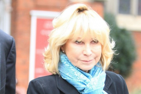 Jason Shillingford Richard Briers Funeral In Chiswick In Pic Is Felicity Kendal