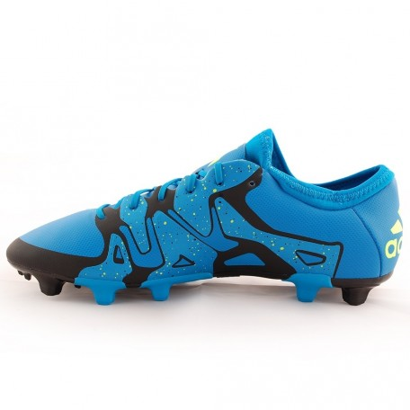 Adidas Mens Firm Artificial Ground Football Boots Blue Image Football