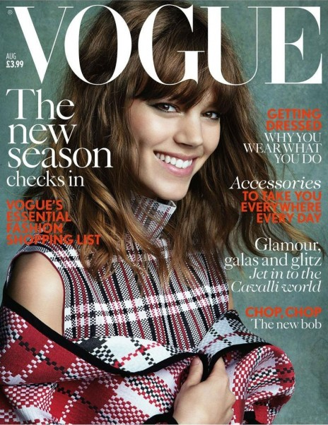 Freja Beha Erichsen Vogue August