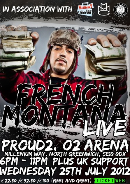 French Montana Poster