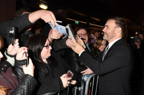 Gary Barlow At The Girls Opening Night Credit Alan Davidson Gary Barlow