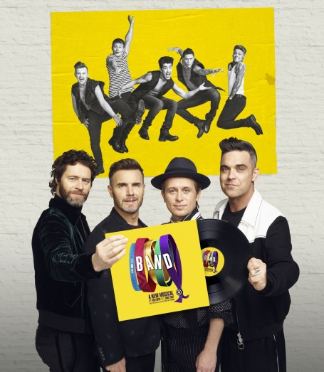 Howard Donald Gary Barlow Mark Owen Robbie Williams And The Band Credit Jay Brooks Gary Barlow