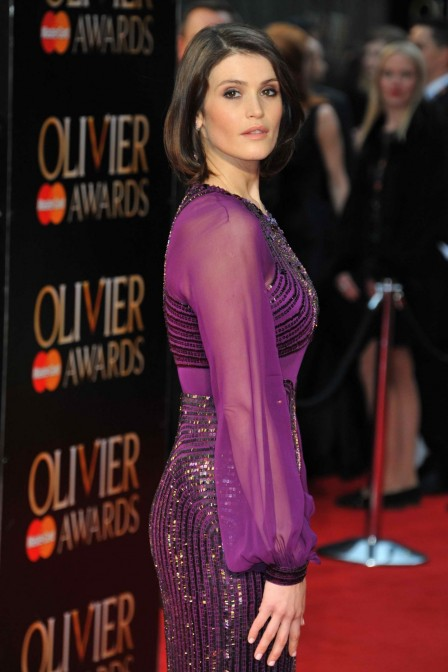 Gemma Arterton At The Olivier Awards In London Gemma Arterton