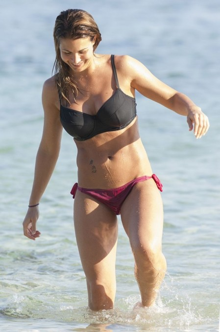 Gemma Atkinson In Bikini On Holiday With Her Boyfriend In Bali Indonesia June Gemma Atkinson