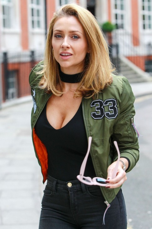 Gemma Merna Out And About In London Gemma Merna