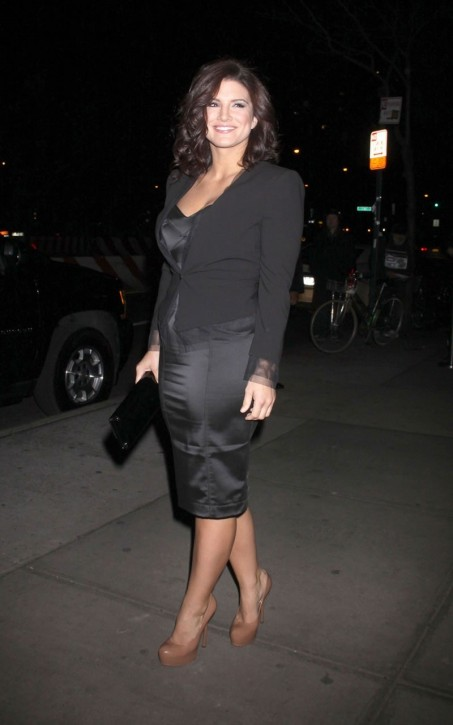 Gina Carano At The Landmark Sunshine Cinema In New York