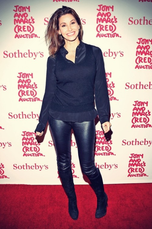 Gina Gershon Red Auction Celebrating Masterworks Gina Gershon