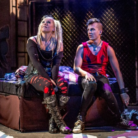 Green Day American Idiot Musical Live On Stage Review Cast Uk London Aaron Sidwell Amelia Lily Johnny Whatsername Jesus Of Suburbia Green Day
