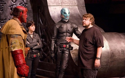 Ron Perlman Selma Blair Doug Jones Guillermo Del Toro Hellboy The Golden Army Feature Image Monsters