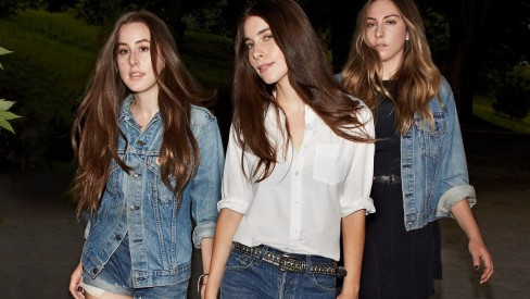 Haim Live In Levis Campaign Commerical