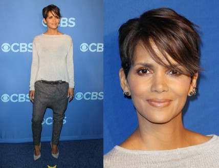 Halle Berry In Daimon Sorella Cbs Upfront Presentation Halle Berry
