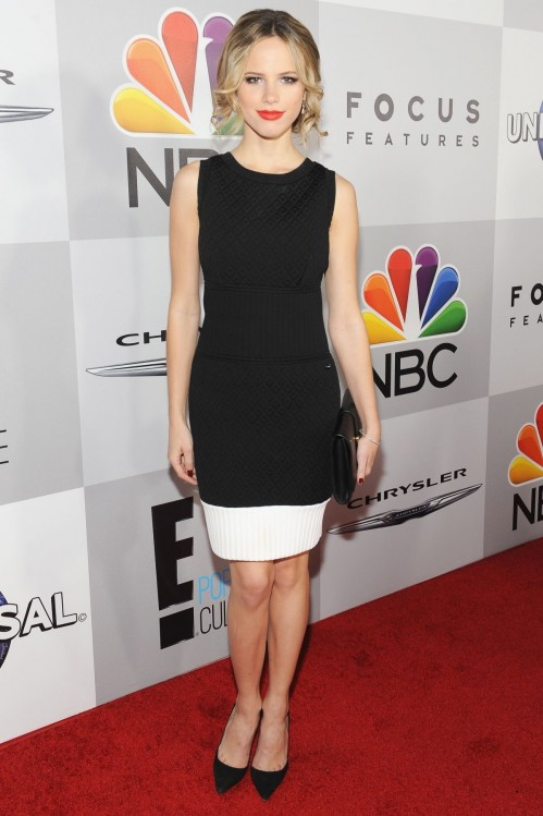 Halston Sage At Nbc Universal Golden Globe Aster Party