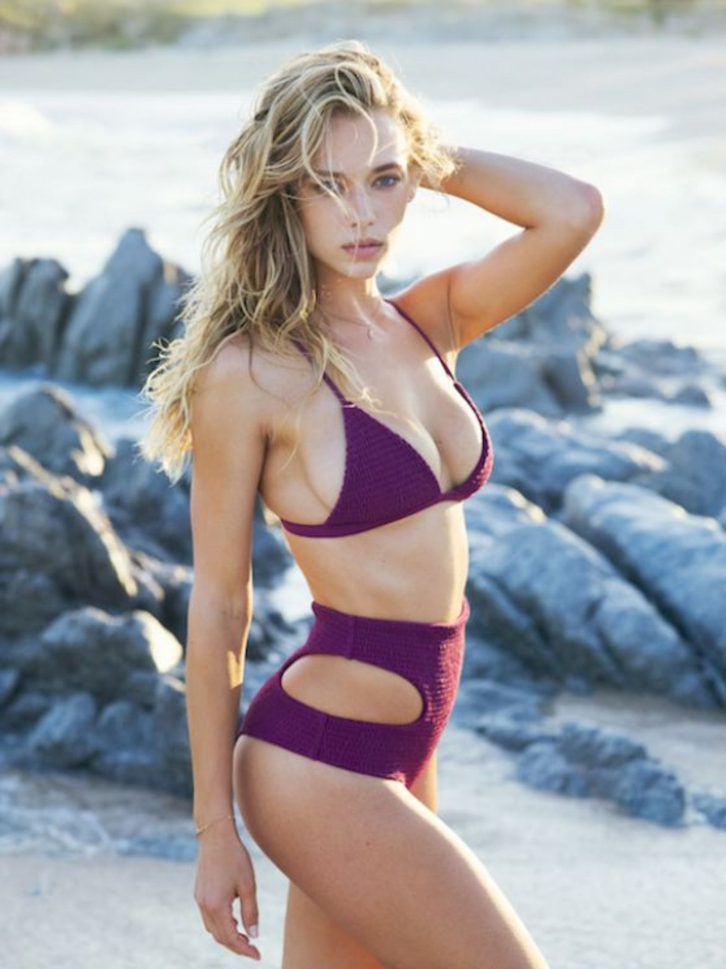 Hannah Ferguson Hot In Tori Praver Swimwear Resort Hannah Ferguson