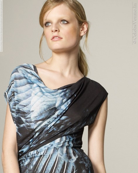 Hanne Gaby Odiele For Bergdorf Goodman Collection Photoshoot
