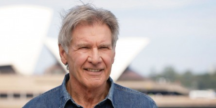 Lan Ape Harrison Ford Star Wars Press Tour December Harrison Ford