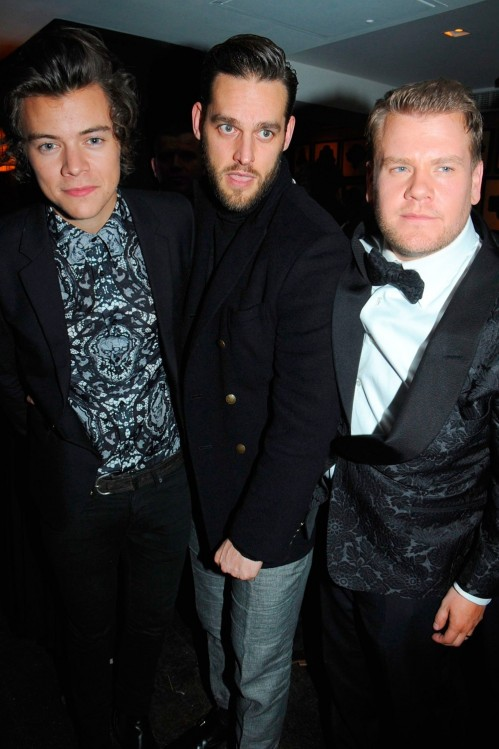Harry Styles James Corden Brit Awards