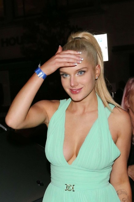 Helen Flanagan In Green Dress Fhm Sexiest Women In The World