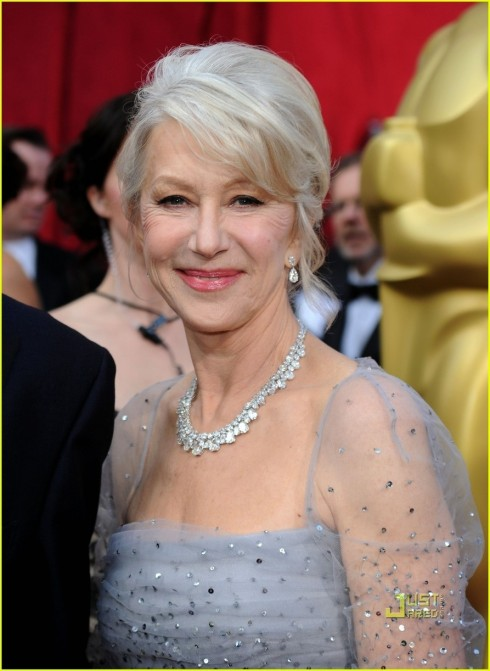 Helen Mirren Oscars Red Carpet Helen Mirren