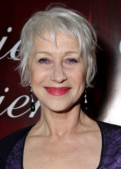 Helen Mirren Short Hair