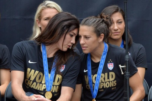 Uswnts Alex Morgan Megan Rapinoe Dont Share Hope Solos Opinion Of Swedish Cowardslg Hope Solo