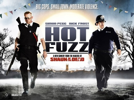 Hot Fuzz Poster Poster
