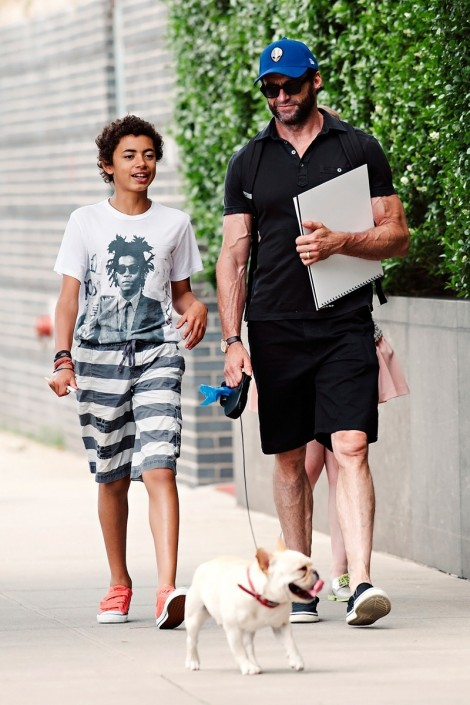 Fatherly Influence Hugh Jackman Gallery Max Fashion