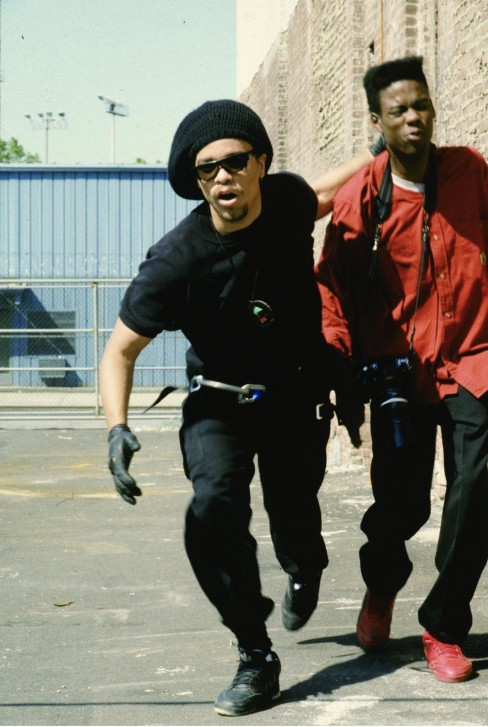 Picture Of Ice And Mario Van Peebles In New Jack City Large Picture
