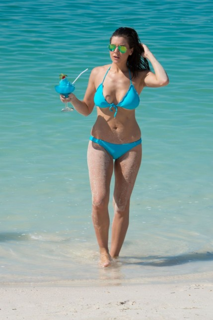 Imogen Thomas Hot In Bikini In Miami Imogen Thomas