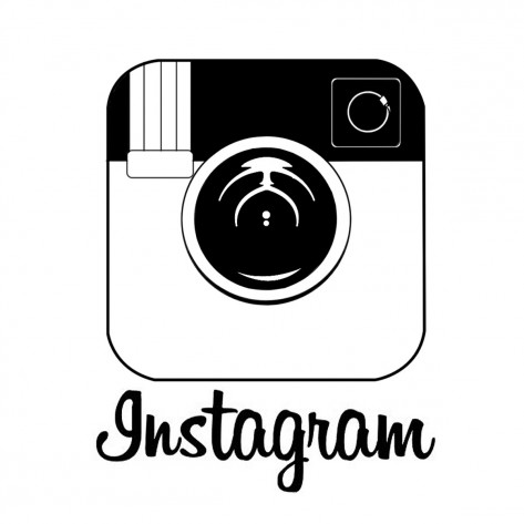 Ad Instagram Logo Black And White Instagram Clipart Black And White Instagram