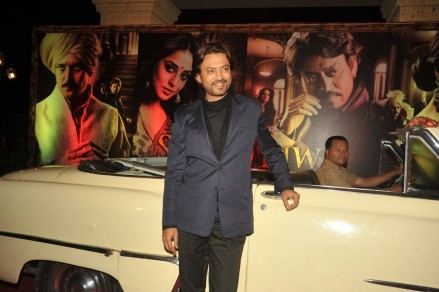 Nxzx Df Kak Qwd Irrfan Khan At Film Saheb Biwi Aur Gangster Returns First Look Launch In Mumbai