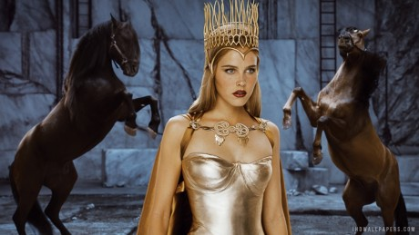 Isabel Lucas In Immortals Movies