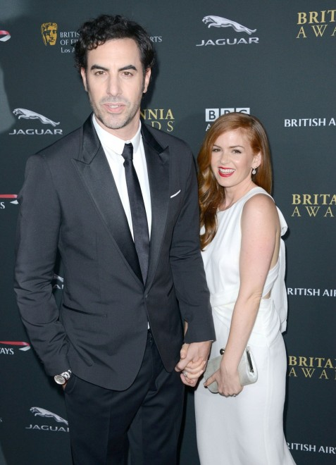 Entertainment Isla Fisher Sacha Baron Cohen Main Isla Fisher